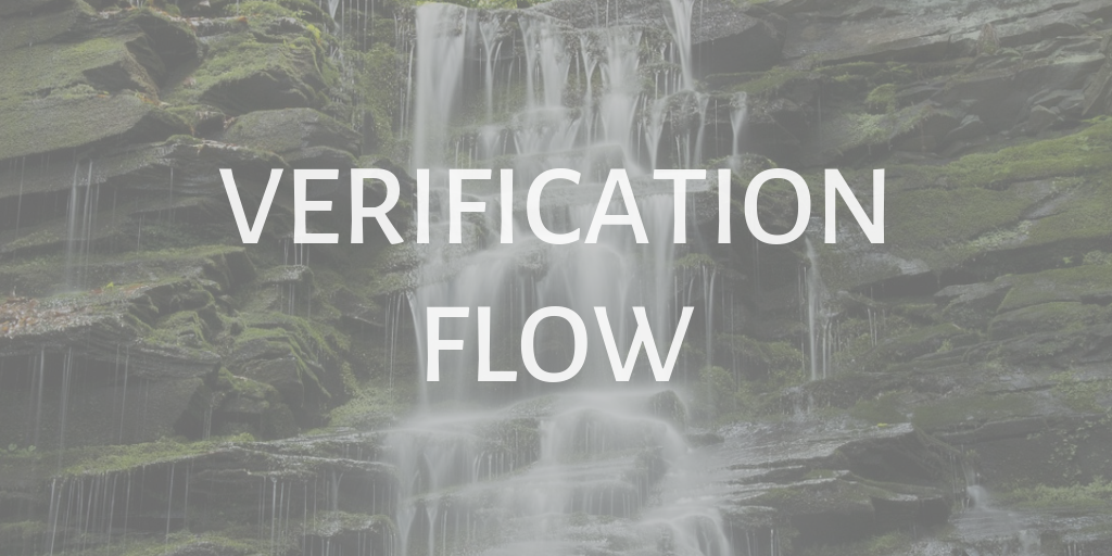 omni channel verification with successive authentication flow